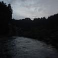 広瀬川 支流−シーズン最終日の夕暮れ